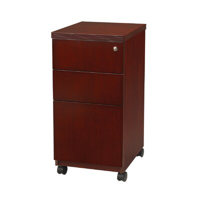 Mayline Group Luminary Series 3-Drawer Pedestal Files