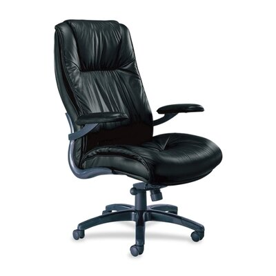 Mayline Group Series 100 High-Back Leather Executive Chair