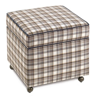 Eastern Accents Ryder Storage Boxed Ottoman