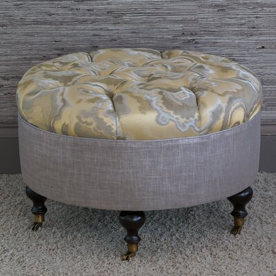 Eastern Accents Amal Round Ottoman