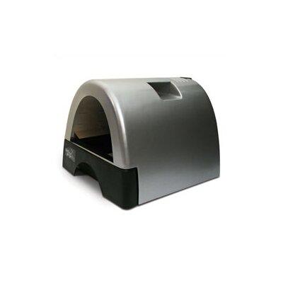 kittyagogo designer cat litter box with metallic cover reviews wayfair. Black Bedroom Furniture Sets. Home Design Ideas