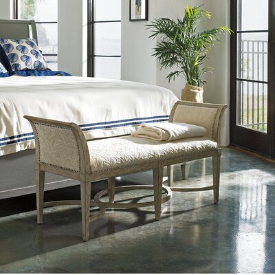 Rosecliff Heights Blackburn Wooden Upholstered B..