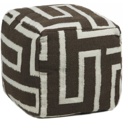 Chandra Rugs Textured Rectangular Contemporary Ottoman