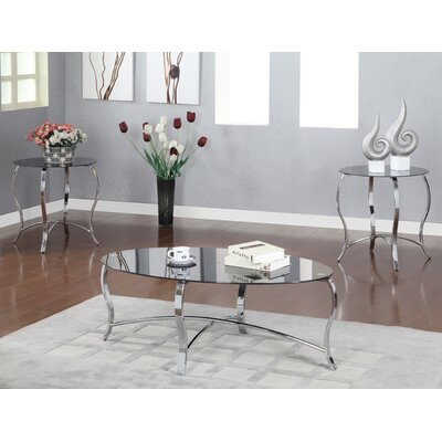 Hokku Designs Androme 3 Piece Coffee Table Set