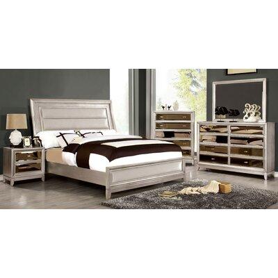 Mercer41 Seilles Upholstered Panel Bed