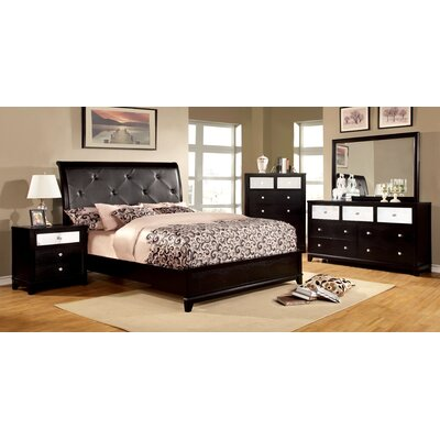 House of Hampton Aeline Platform Customizable Bedroom Set