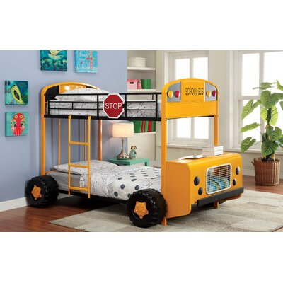 Hokku Designs Bus Driver Twin Bunk Bed
