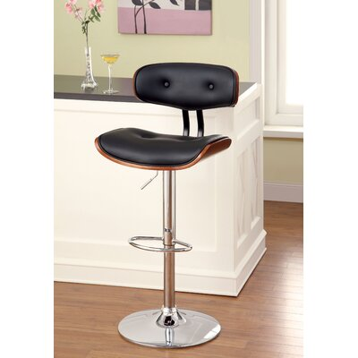 Hokku Designs Tyler Adjustable Height Swivel Bar Stool