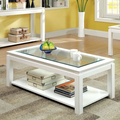 hokku designs senna coffee table & reviews | wayfair