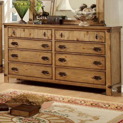 Hokku Designs Torrino 8 Drawer Dresser