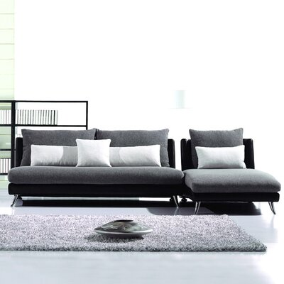 Hokku Designs Dione Reversible Chaise Sectional