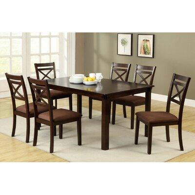 Hokku designs 7 piece dining set reviews wayfair for Hokku designs dining room furniture