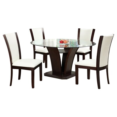Hokku Designs Carmilla 5 Piece Dining ..