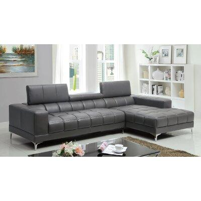 Hokku designs derrikke sectional reviews wayfair for Hokku designs living room furniture