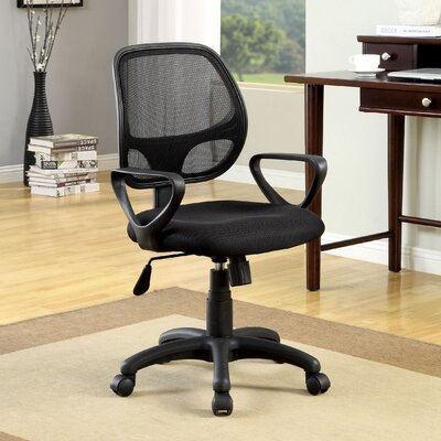 Hokku Designs Delta High-Back Mesh Conference Chair with Arms