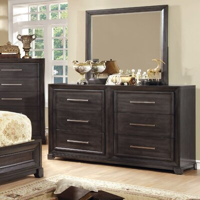 Hokku Designs Peterson 6 Drawer Dresser w..