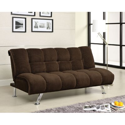 Hokku Designs Oberon Corduroy Sleeper Sofa