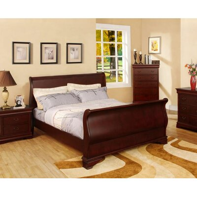 Darby Home Co Dillonvale Sleigh Bed