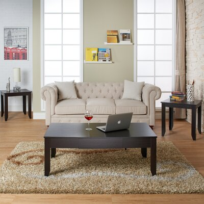 Charlton Home Norma 3 Piece Coffee Table Set
