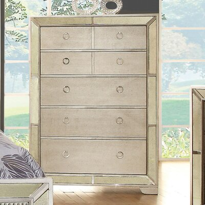 House of Hampton Geier 5 Drawer Chest
