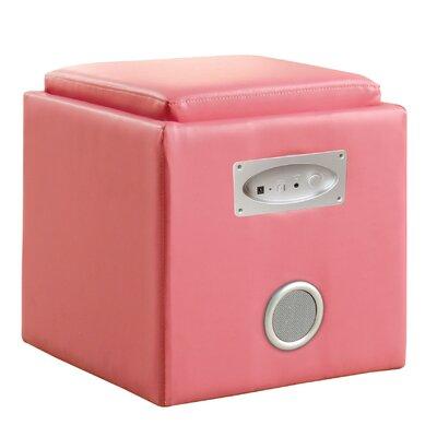 Hokku Designs Reverb Cube Ottoman with Bl..