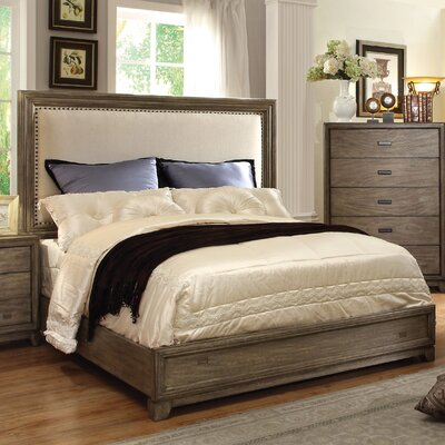 Hokku Designs Karla Upholstered Panel Bed