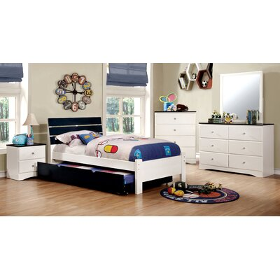 Zoomie Kids Cristina Sleigh Customizable Bedroom Set