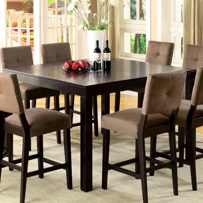 Brayden Studio Fairlee 7 Piece Counter Height Dining Set