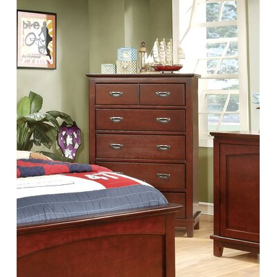 Hokku Designs Kenneth 5 Drawer Chest