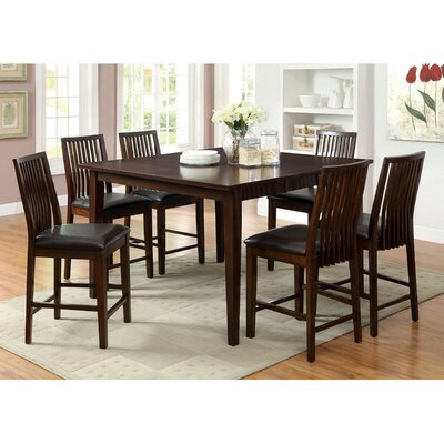 Hokku Designs Vessice 7 Piece Dining Set