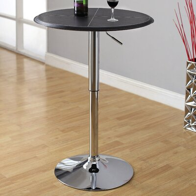 Hokku Designs Citizen Leatherette Adjustable Pub Table