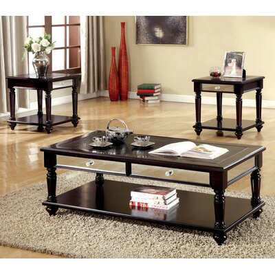 Hokku Designs Bridgette 3 Piece Coffee Table Set