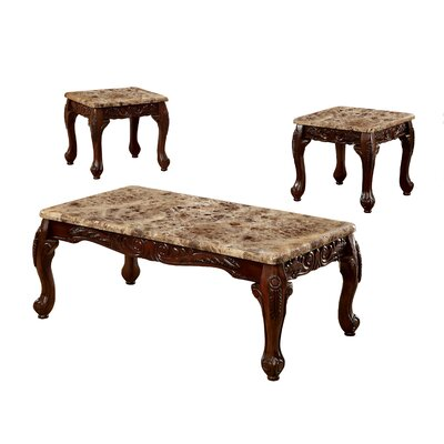 Hokku Designs Kalline 3 Piece Coffee Table Set