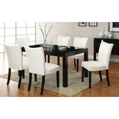 Hokku Designs Lax Contemporary 7 Piece Di..