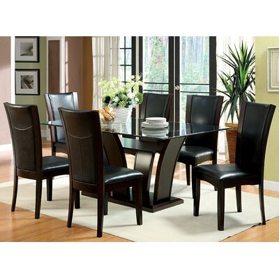 Hokku Designs Uptown 7 Piece Dining Set