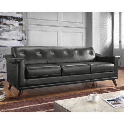 Moroni Kak  Full  Top Grain Leather Sofa