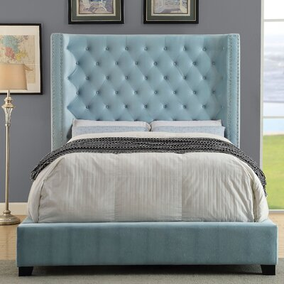 House of Hampton Geisler Upholstered Platform Bed