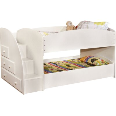 Hokku Designs Jamie Twin Bunk Bed with Storage