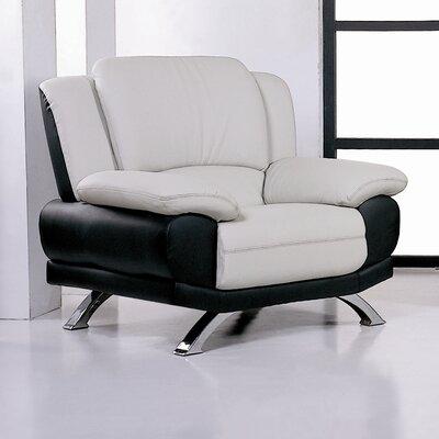 Hokku Designs Caelyn Leather Chair