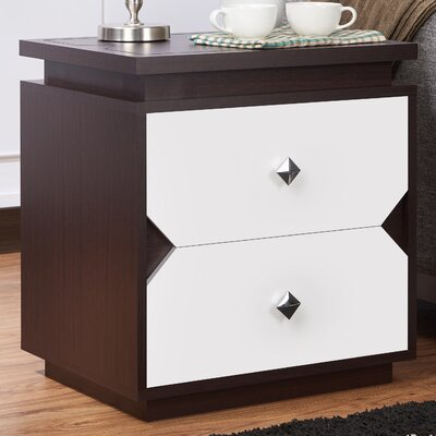 Wade Logan Beckfield Contemporary End Table