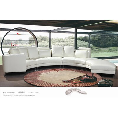 Hokku Designs Carnelian Sectional