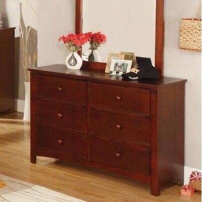 Hokku Designs Bedford 6 Drawer Dresser