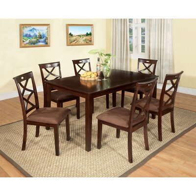 Hokku Designs Western 7 Piece Dining Set