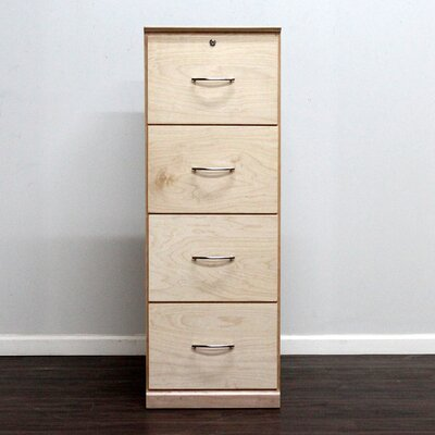 Gothic Furniture Flat Iron 4-Drawer Ve..