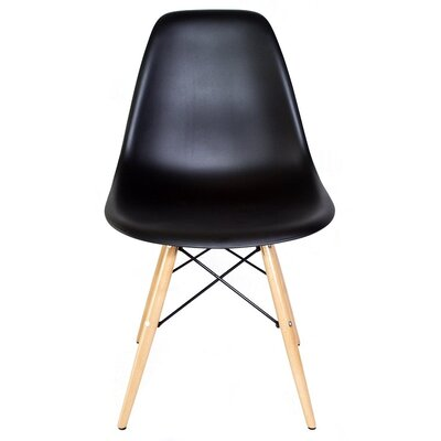 eModern Decor Slope Shell Side Chair