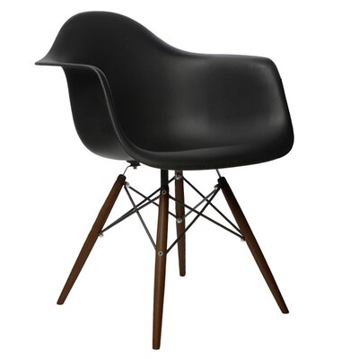 eModern Decor Scandinavian Arm Chair
