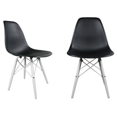 eModern Decor Slope Side Chair (Set of 2)