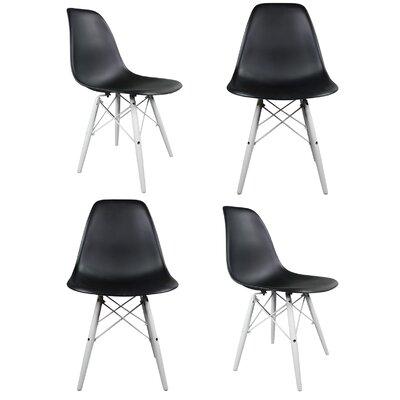 eModern Decor Slope Side Chair (Set of 4)
