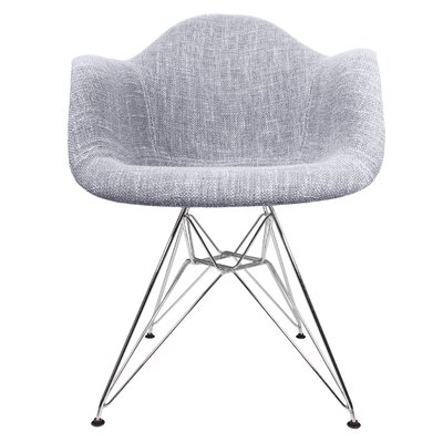 eModern Decor Woven Fabric Upholstered Ar..