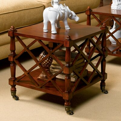 HeatherBrooke Furniture Foxhall Bunching End Table